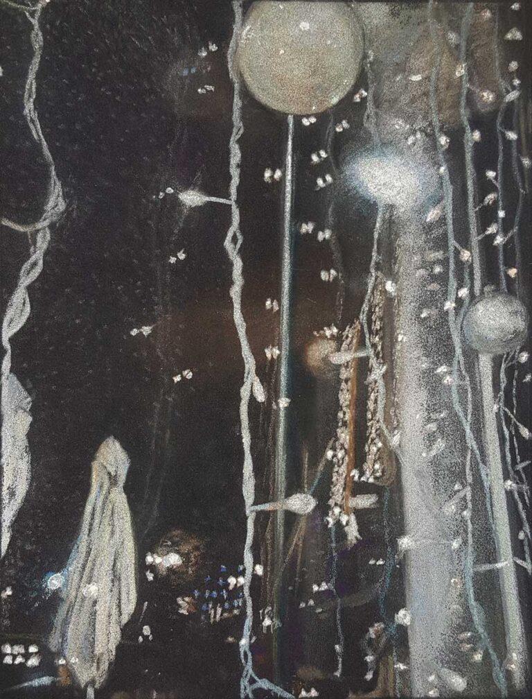 Sans titre 1 - 2009 - pastel sec sur papier velours - 21 x 28 cm